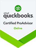 photo of quickbooks certification badge